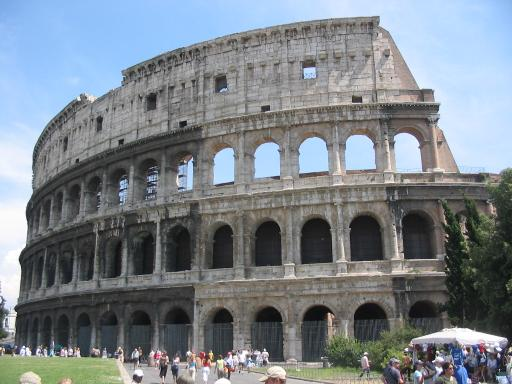 Golfresor till Rom, Parco de´ Medici, Collosseum
