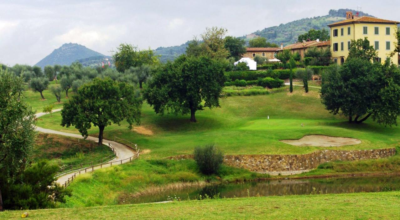 Golfresa till Montecatini i Toscana