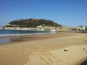 Golfresa Rioja, San Sebastian stranden