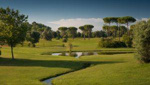 Golfresor till Rom, Parco de´ Medici, banan