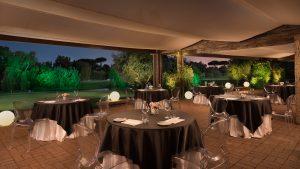 Golfresor till Rom, Parco de´ Medici, restaurang