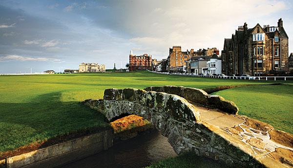 Golfresor till St Andrews Old Course